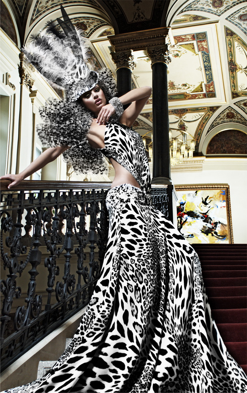 High fashion couture photography for High couture designers